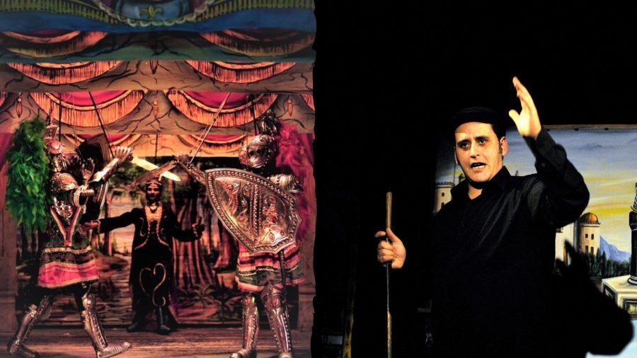 Enzo Mancuso in scena