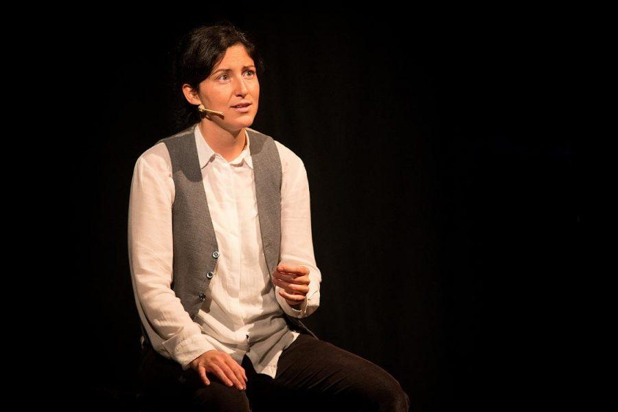 Francesca Camilla D'Amico in scena