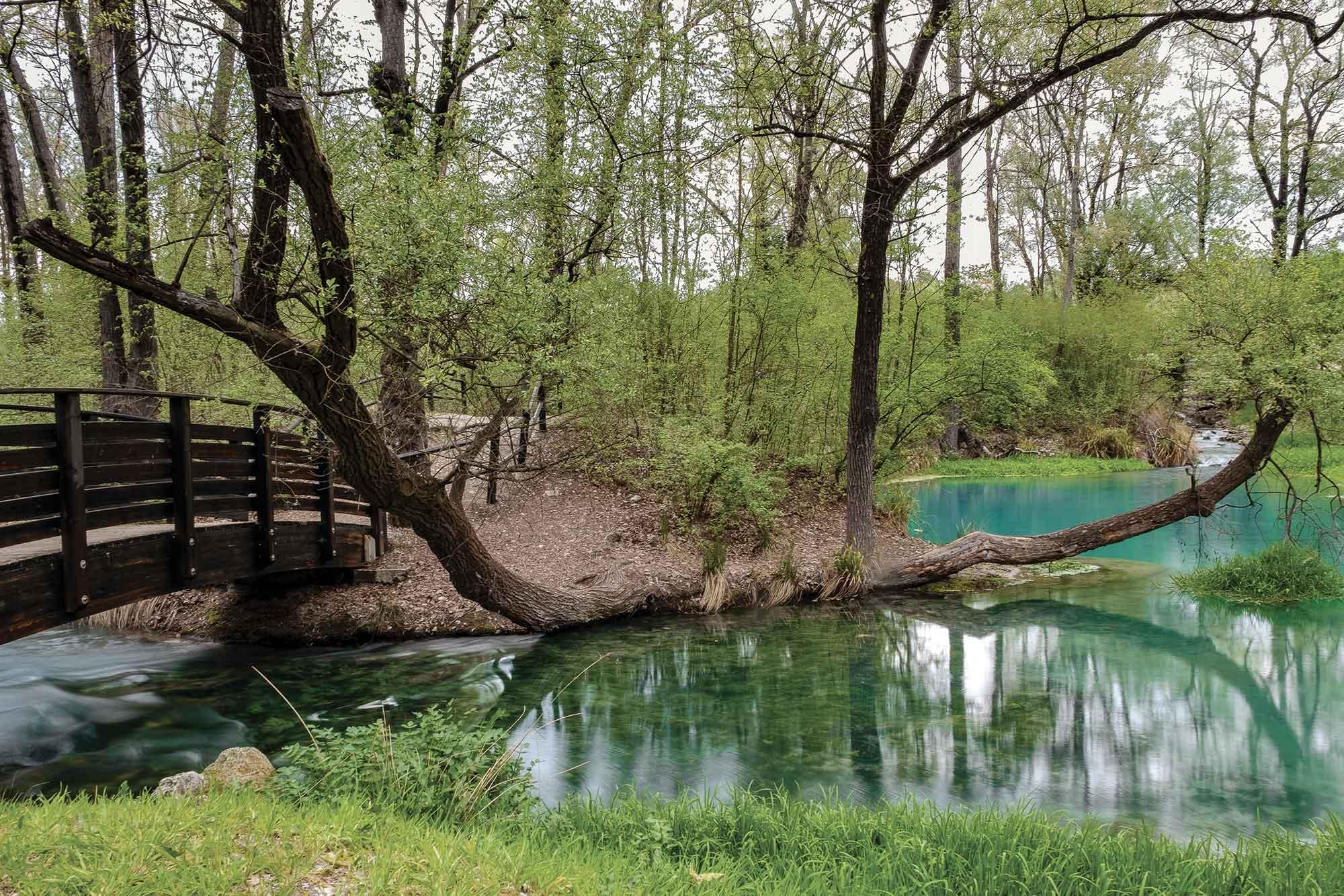 Scafa. Parco del Lavino. (ph.: Luca Del Monaco).