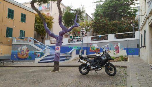 Francavilla al Mare, l'omaggio del pittore Emilio Patrizio al paese alto