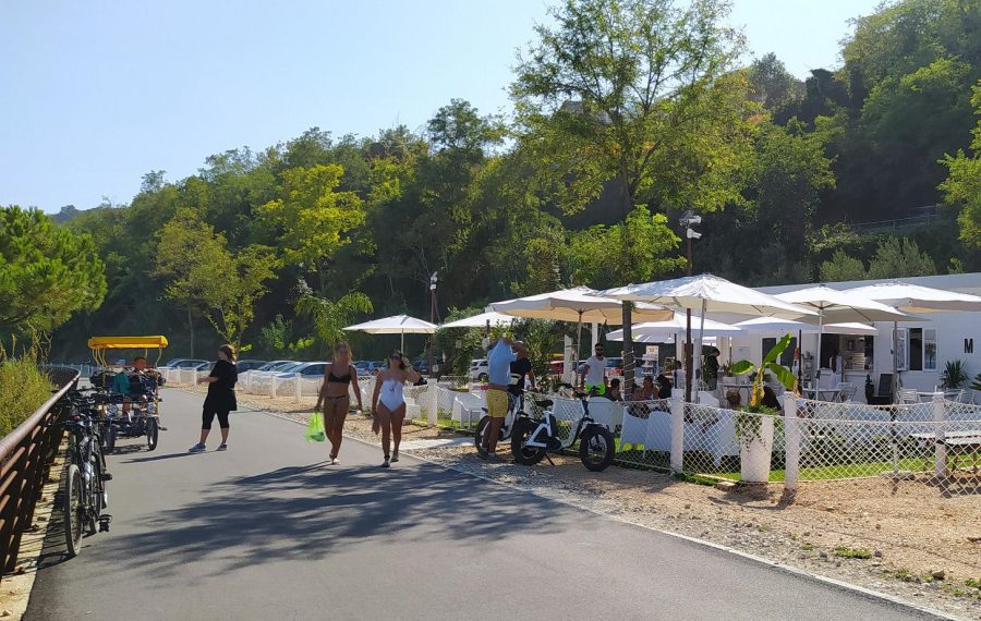 Via Verde nei pressi di Fossacesia (ph. Ivan Masciovecchio)