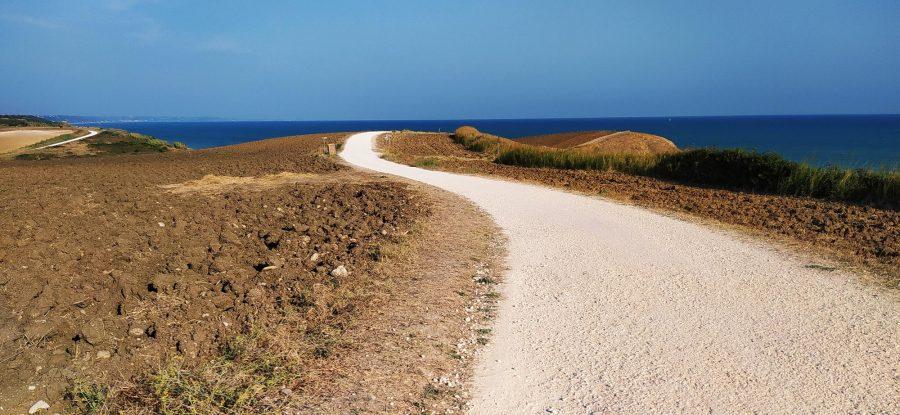 La Via Verde all'interno della Riserva regionale di Punta Aderci a Vasto (ph. Ivan Masciovecchio)