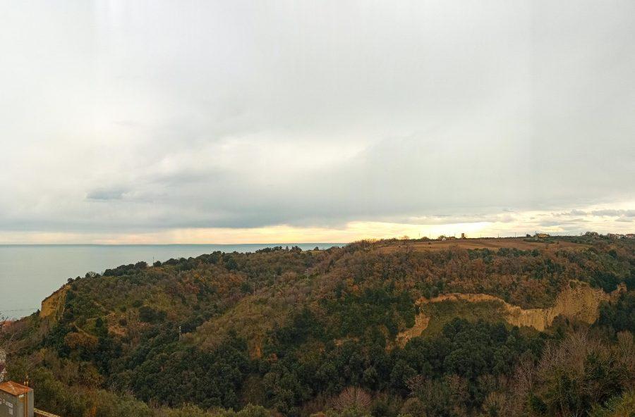 L'area di Colle Foresta a San Vito Chietino dove dovrebbe sorgere il resort (ph. TU.Vi.V.A.)